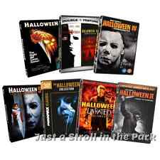 Halloween: Complete Michael Myers Movies 1-8 + Reboot Movies 1-2 Box/DVD Set(s)
