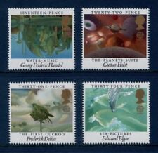 5 Number Great Britain Commemorative Stamps