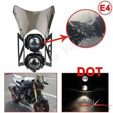E-Mark&Dot Dominator Motorcycle Headlights Lamp w Windshield For Sachs MadAss 50