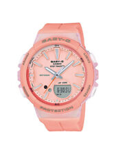 Casio Baby-G Uhr BGS-100-4AER Analog,Digital Orange,Rosa