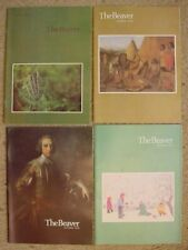 4 Hudson's Bay Beaver Magazines from 1976 Complete Year