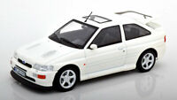 FORD ESCORT RS COSWORTH WHITE DIECAST MODEL NICE DETAIL 1:18 SCALE CLASSIC NOREV