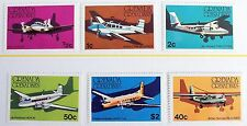 Grenada Grenadines - 1976 Aircraft  Set – Un.Mint (MNH) (R3)