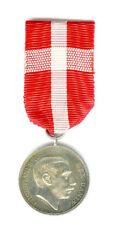 DENMARK KINGS MILITARY COMMEMORATIVE MEDAL 1916 CHRISTIAN X, 39 AWARDED