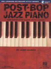 Post-Bop Jazz Piano Music Book with Audio Hal Leonard Keyboard Style Series