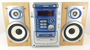 Aiwa XR-M191 Executive Microsystem (cassette, CD player, tuner and aux input)