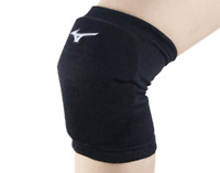 Mizuno Japan Volleyball Knee Supporter with Pad V2MY8008 Black White