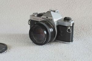 Asahi Pentax MX silber mit AutoRevuenon MC 50mm 1:1,4