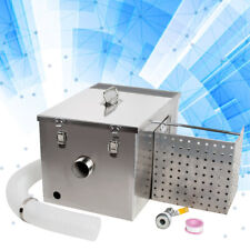 Grease Trap Interceptor Set Detachable Kitchen Wastewater Removable Baffles Usa