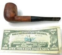 Vintage Bertram 80 Smoking Pipe Washington DC Briar Owner Dated 4/27/43 Smoked