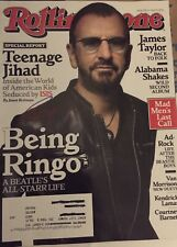 Ringo Starr Signed Rolling Stone