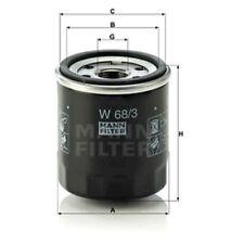 Mann Oil Filter Spin On For Peugeot 107 1.0