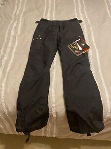 Spyder Winner Ski Pants, Women's Size 8 Regular, Black NEW
