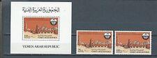 Middle East - Yemen mnh stamp set & sheet - Civil Aviation