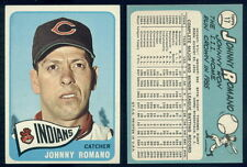 (35634) 1965 Topps 17 Johnny Romano Indians-EM