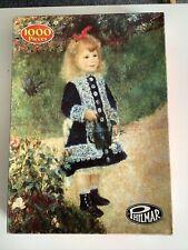 Philmar Vintage 1000 Piece Puzzle A Girl With A Watering Can - Renoir 906