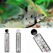 New! Aquarium Fish Tank Thermometer Glass Meter Water Temperature Suction Cup AU