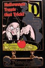 Disney Magazine Snow White Dwarfs 2006 October Halloween Old Hag Pin NEW LE