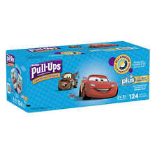 Huggies Pull-Ups Potty Training Pants Boys 2-3T 124 Ct Diapers Disposable NEW!