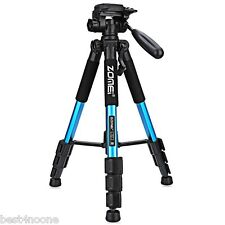 "Zomei Q111 56"" Professional Lightweight Camera Video Aluminum Tripod+Bag Blue"