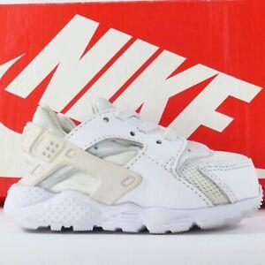 Nike Huarache Run Sneakers in Size 4C White