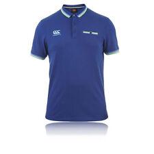 Abbiglimento sportivo da uomo blu Canterbury manica corta