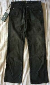 7 For All Mankind 'A' Pocket Straight Leg Jeans (Dark Gray) - Boys Size 10 *NEW*