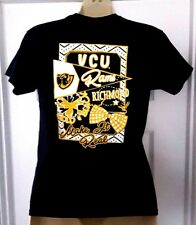 VCU RAMS T Shirt Youth Small Girls Tee Front Back Logos Hearts Virginia Comm