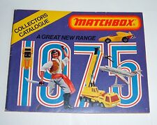 Very Rare USA Edition Matchbox Toys Catalogue, Dated 1975 - Superb Mint.