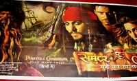 "PIRATES OF THE CARIBBEAN : DEAD MAN'S CHEST 6 SIX SHEET GIANT POSTER 52"" X 106"""