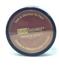 Black Radiance Velvet glow Color & Shimmer for Face Modern Glamour Sealed
