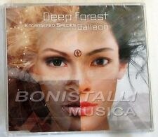 DEEP FOREST - ENDANGERED SPECIES - Remixed By Galleon - CD Single Sigillato