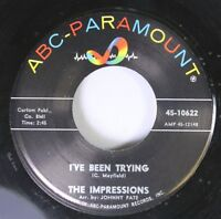Northern Soul 45 The Impressions - I'Ve Been Trying / People Get Ready On Abc-Pa