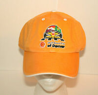 Shell Oil Denver Grand Prix F1 Racing Formula 1 Car Yellow Hat Cap New NOS OSFM