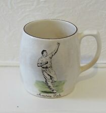 MAURICE TATE Sandland ceramic mug. Sussex County Cricket Club. Ashes