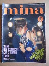 MINA n°149 1974 con Poster JURI FRANCIOLI  FOTOROMANZO edizioni Lancio  [G574]