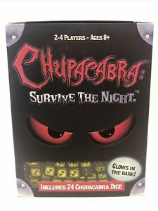 Chupacabra Survive the Night Dice Game Haywire Group, 2-4 Players, Out of Print