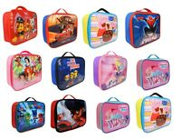 Kids Children Insulated Lunch Bag Box