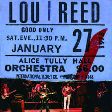 Reed Lou Lou Reed Live At Alice Tully Hall January 27 1973 2 Lp Rsd 2020