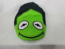 Kermit The Frog The Muppets Hat Green flat Cap stretch band