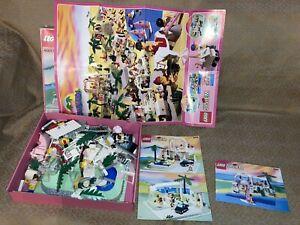 1992 Lego 6416 Paradisa Poolside Paradise & 6411 Sand Dollar Cafe