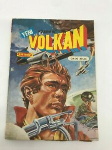 CAPTAIN VOLKAN #46 #47 - Turkish Comic Book - 1980s - Very Rare