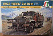 Italeri M923 Hillbilly Gun Truck 6513 Plastic model kit w/ upgraded molds 1/35