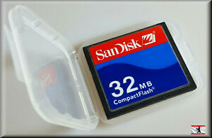 SanDisk Compact Flash CF-Card 32MB SDCFB