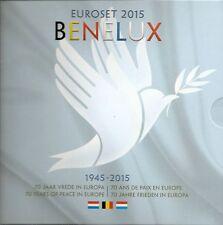 """Benelux Kms ufficiale 2015"""" 70 anni di pace in Europa """"nella cartella/BU"""