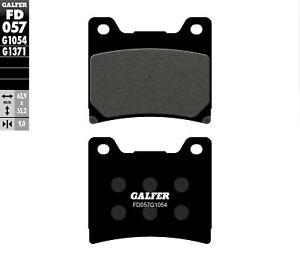 GALFER FD057G1054 1054 Carbon Semi-Metallic Brake Pads