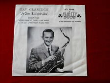 GAY CLARIDGE~ THE DANCE BAND OF THE STARS~ SLEEVE ONLY~NO RECORD~RARE ~ POP 45