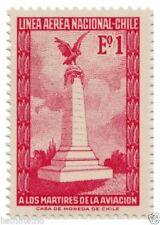 Chile 1965 #691 Monumento a los Martires de la Aviacion MNH