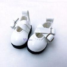Mimiwoo 1/6 Bjd Doll Cross Strap Shoes White LYS002WHE (for Foot 2.6cm long)