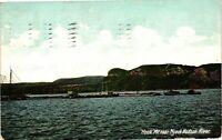 "Vintage Postcard - 1908 ""HOOK"" Mt Near Nyack Hudson River New York NY #3292"